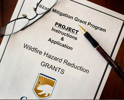 Fire Safe San MAteo County grants and funding